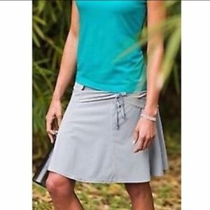 Athleta wherever skort cobbleston gray skirt